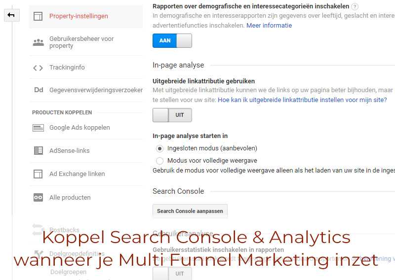 Koppel Search Console & Analytics