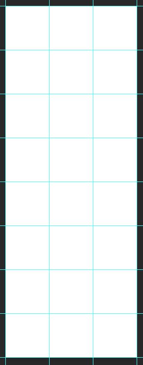 Instagram grid voorbeeld
