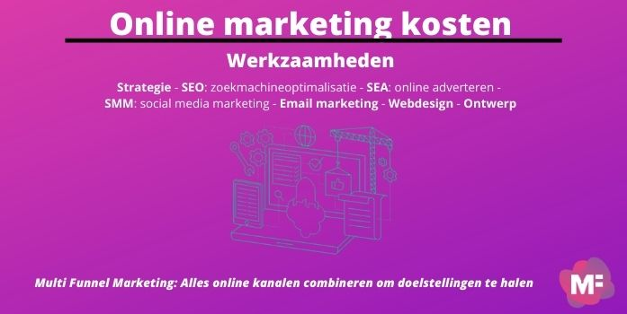 Online marketing werkzaamheden